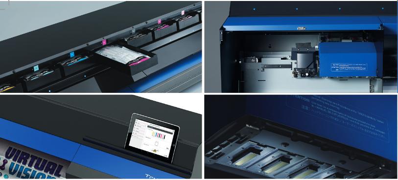 TrueVIS VG-540, VG-640 Струйные принтеры/каттеры для широкоформатной печати